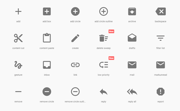 free google material design icon packs wd
